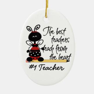 School Teacher's Ladybug Gift Ornament