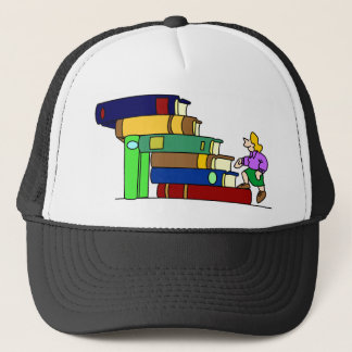 School time, back to school trucker hat