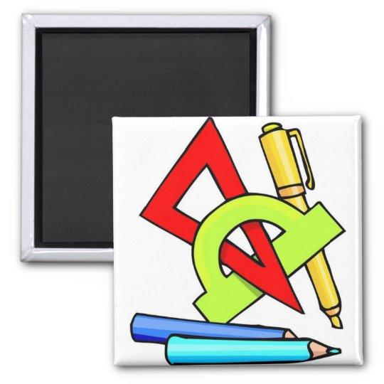 School Tools Magnet