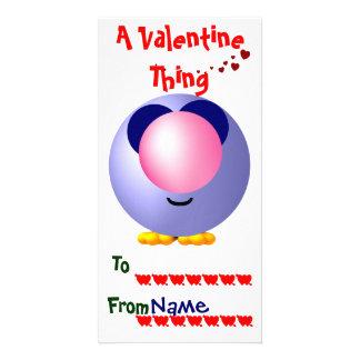 School Valentines Custom Photo Card