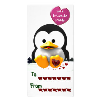 School Valentines Photo Greeting Card