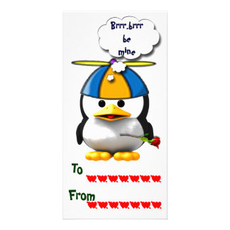 School Valentines Photo Greeting Card