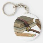 SchoolBooksPencils071709 Key Chains