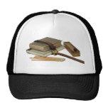 SchoolBooksPencils071709 Trucker Hats