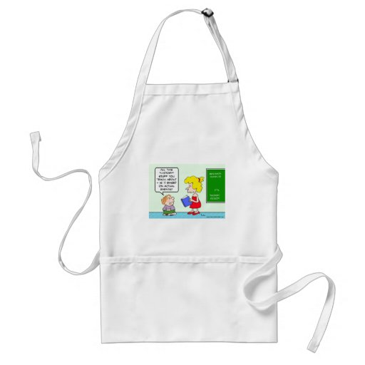 schoolboy asks if history is based on actual event aprons