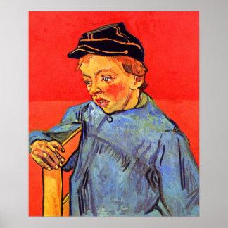 Schoolboy by Vincent van Gogh Poster