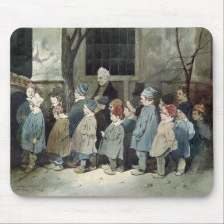 Schoolboys in the Playground Mouse Mat