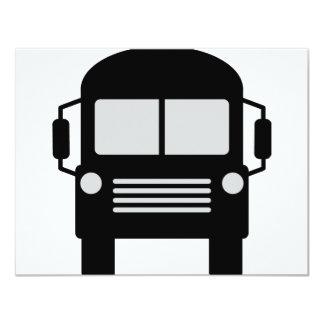 schoolbus icon card