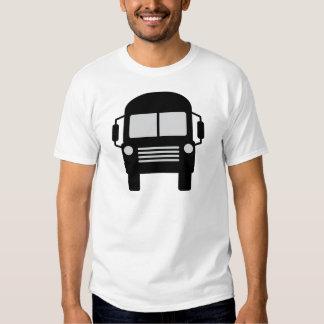 schoolbus icon tees