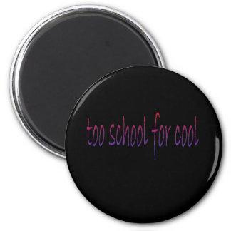 schoolcool 6 cm round magnet