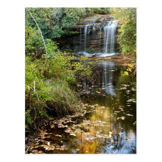 Schoolhouse Falls Postcard