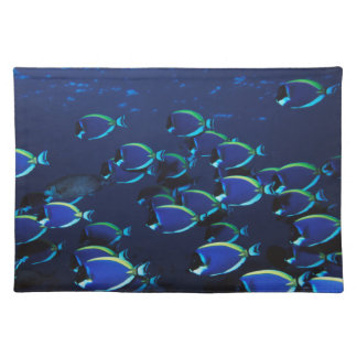 Schooling Powder Blue Surgeonfish Placemat