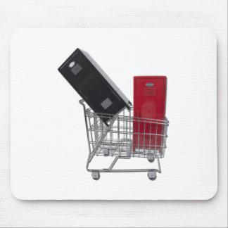 SchoolLockersInShoppingCart010212 Mouse Pad