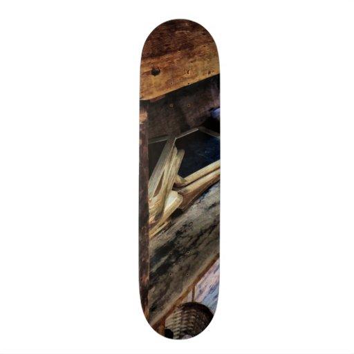 Schoolmarm's Desk Skateboard Deck