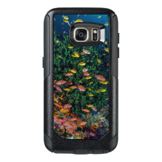 Schools of Fish Swim in Reef OtterBox Samsung Galaxy S7 Case