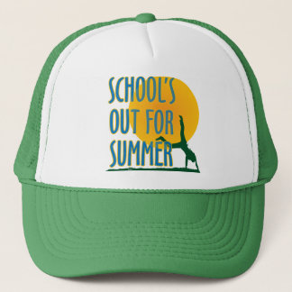 SCHOOL'S OUT FOR SUMMER! TRUCKER HAT