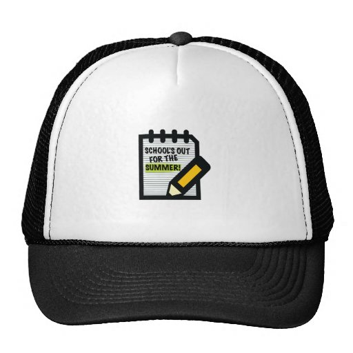 School's Out For The Summer! Mesh Hat
