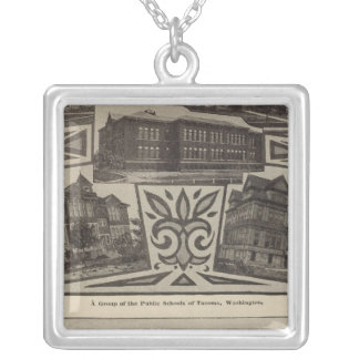 Schools, Tacoma, Wash Silver Plated Necklace
