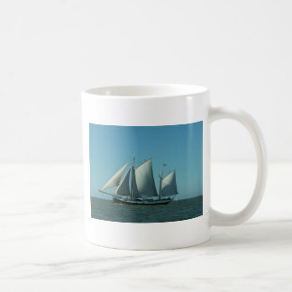 Schooner at Sea Coffee Mug