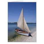 Schooner at Spanish Point Greeting Cards