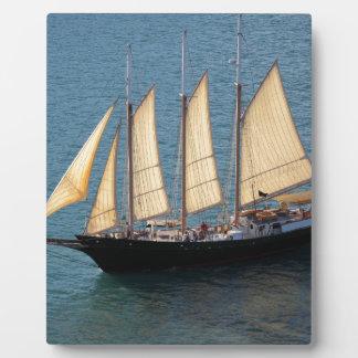 Schooner Boat Display Plaques