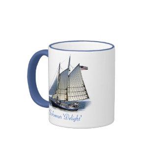 Schooner 'Delight' Coffee Mugs
