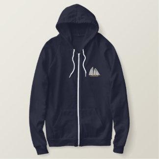Schooner Embroidered Hoodie