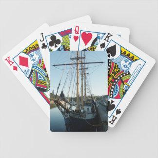 Schooner Frya Deck Of Cards