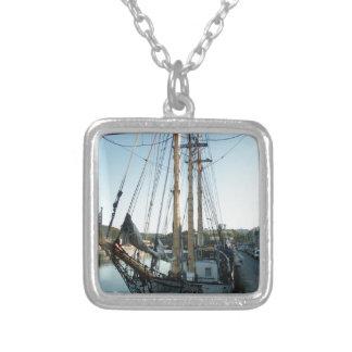 Schooner Frya Silver Plated Necklace