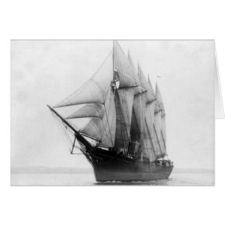 Schooner Governor Ames Greeting Card