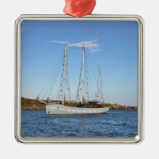 Schooner In The Isles Of Scilly Christmas Ornament