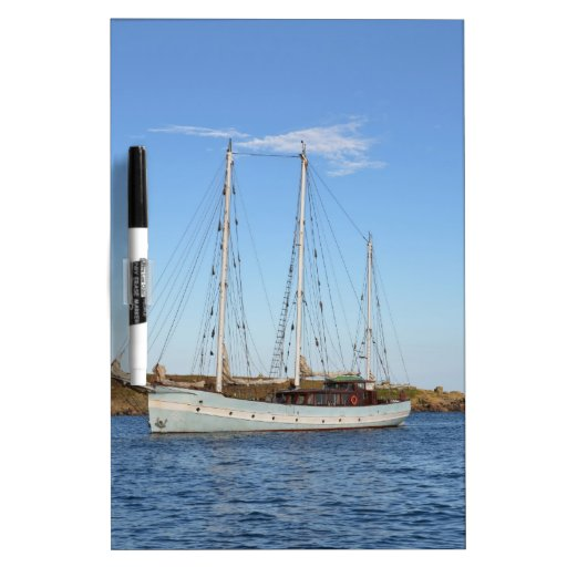 Schooner In The Isles Of Scilly Dry Erase Boards