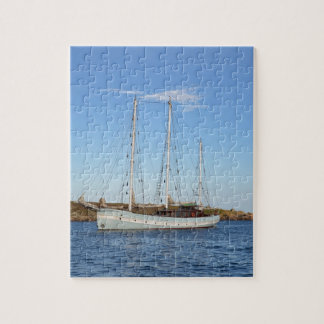 Schooner In The Isles Of Scilly Jigsaw Puzzle