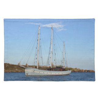 Schooner In The Isles Of Scilly Placemat