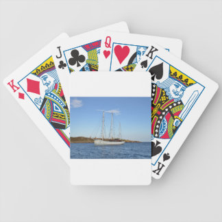 Schooner In The Isles Of Scilly Playing Cards
