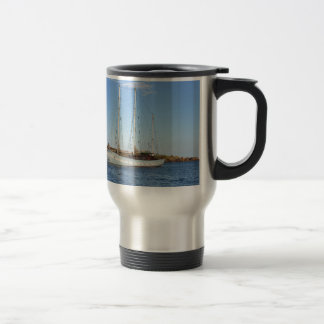 Schooner In The Isles Of Scilly Travel Mug