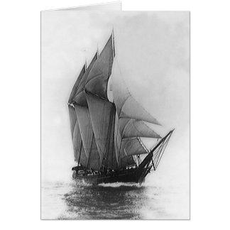 Schooner Mabel Rose Card