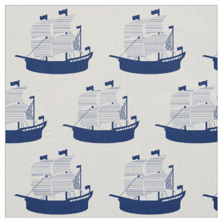 Schooner Navy Fabric