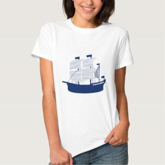 Schooner Navy Tee Shirts
