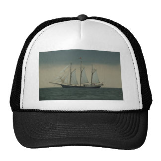 Schooner off the Dutch coast Cap