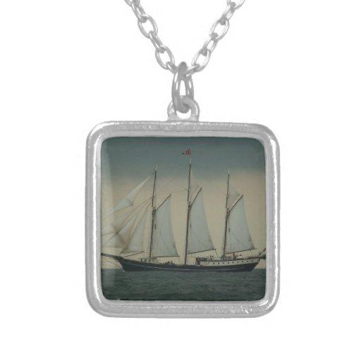 Schooner off the Dutch coast Jewelry