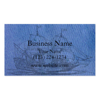 Schooner Pack Of Standard Business Cards