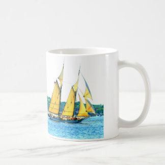 Schooner racing mug