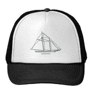 Schooner Sailboat Hat