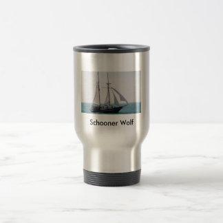 Schooner Wolf Travel Mug