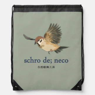 schro drawstring bag