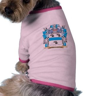 Schrodinger Coat of Arms - Family Crest Doggie Shirt