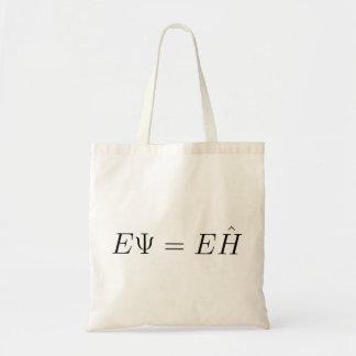 Schrödinger equation tote bags