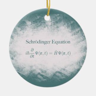 Schrödinger Equation Math & Physics Ornament