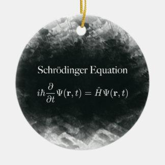 Schrödinger Equation Math & Quantum Physics Christmas Ornament